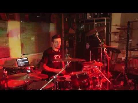 Мастер-класс Павла Лохнина в Туле (барабанщик группы КняZz) #1