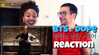 Download Lagu BTS - Dope Reaction Gratis STAFABAND