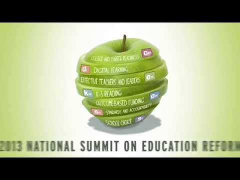 2013 National Summit on Education Reform Highlights