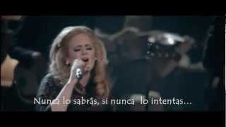 Adele - One and only (live) (Subtitulada al Español)