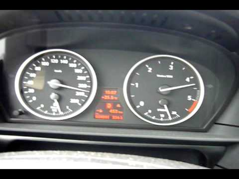 2009 BMW 520d E60 Top Speed - YouTube
