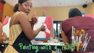 VLOG: PAINTING WITH A TWIST | JUDY'S JOINT