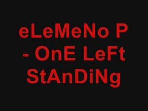Elemeno P - One Left Standing