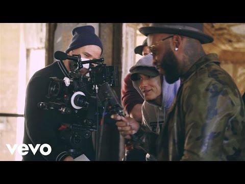 Eminem, Slaughterhouse, Yelawolf - CXVPHER (Behind The Scenes)