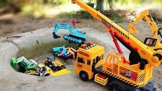 Crane Truck | Excavator | Wheel loader| Dump Truck | Mixer Trucks - Construction Vehicles