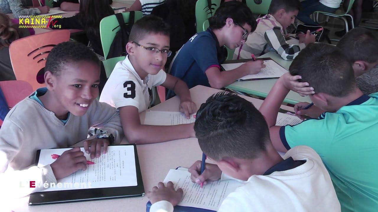 La Paillade : au collège Les Garrigues, Paul Lasne et une dictée pour ELA