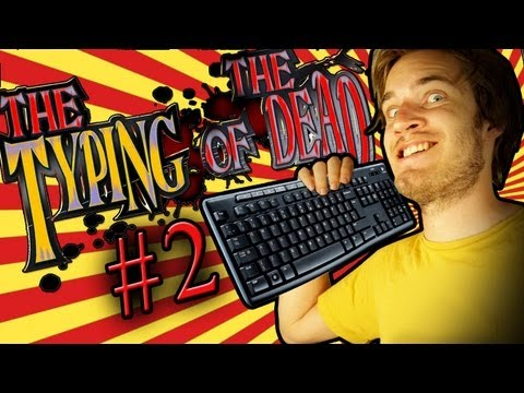 GREATEST VOICE-ACTING IN ANY VIDEO GAME EVER - The Typing of the Dead - Part 2