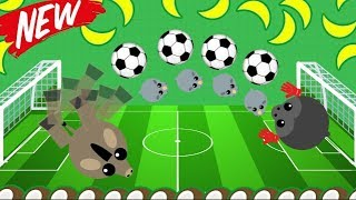 MOPE.IO NEW SOCCER DONKEY TROLLING! *Can You Score?* INSANE TROLLING + DRAGON 1V1 (Mope.io Gameplay)