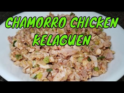 Chicken Kelaguen Guam recipes