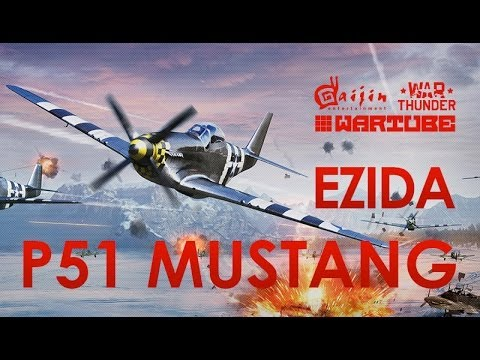 Обзор P 51 Mustang | War Thunder