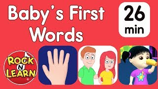 Baby's First Words – Body Parts, Family & More | When will my toddler speak?