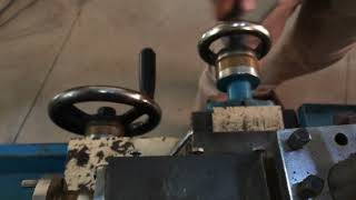 Parts of Lathe machine in detailed