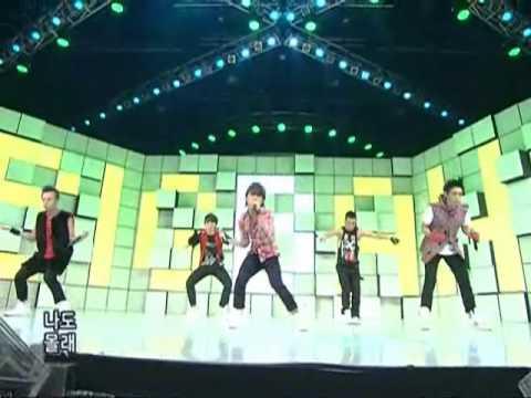 Bigbang - Day after day (빅뱅-하루하루) @SBS Inkigayo 인기가요 20080817