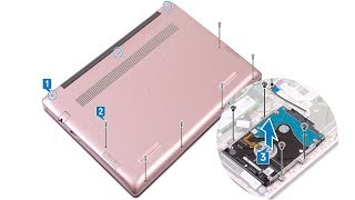 Dell inspiron 5480   Hard Drive replacement  - Laptop repair