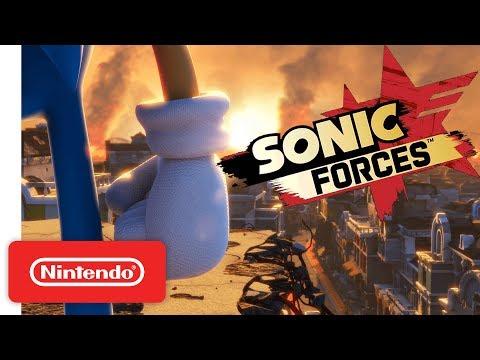Sonic Forces - Official Game Trailer - Nintendo E3 2017