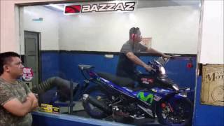 Yamaha Y15ZR aRacer RC M4 ECU Uma Exhaust - Motodynamics Technology Malaysia
