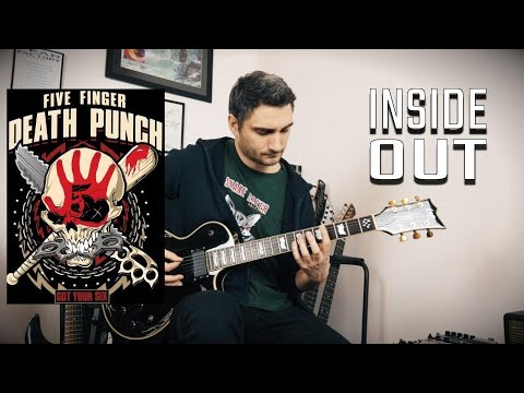 Download  Five Finger Death Punch 'Inside Out' GUITAR COVER NEW SONG 2019 Gratis, download lagu terbaru