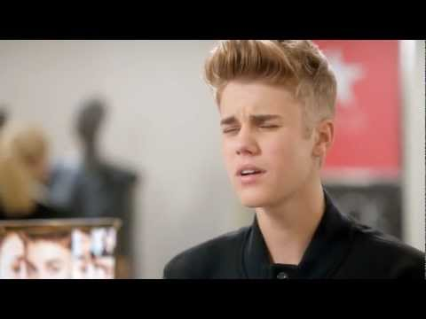 Wink, Nod, Smile - Justin Bieber Macy s Black Friday Commercial