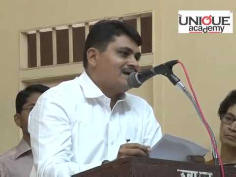 ‪mr. Mahesh Bhagwat (ips) Speech At Unique Academy For Upsc - Mpsc Students ‬ video