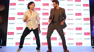 Hrithik Roshan Vs Tiger Shroff DANCE FACE OFF At Maharashtra Most Stylish Award 2017