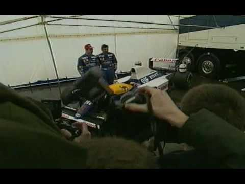 1991   WILLIAMS UNVEIL FW14 RENAULT V10 (THE GREATEST CAR OF ALL TIME)