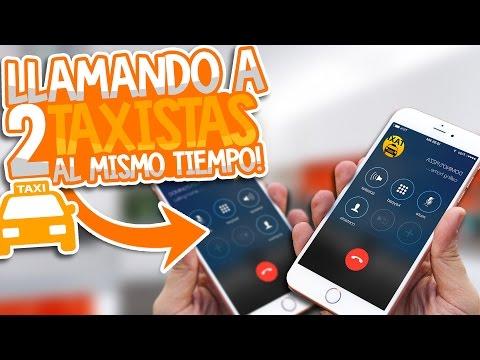BROMA LLAMANDO A 2 TAXIS AL MISMO TIEMPO PARTE 2 - ÉPICO TROLLEO
