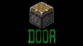 Minecraft - How to Make a 2x3 and 2x2 Piston Door