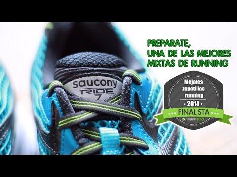 Saucony Ride 7, una de las mejores zapatilla running mixtas del mercado