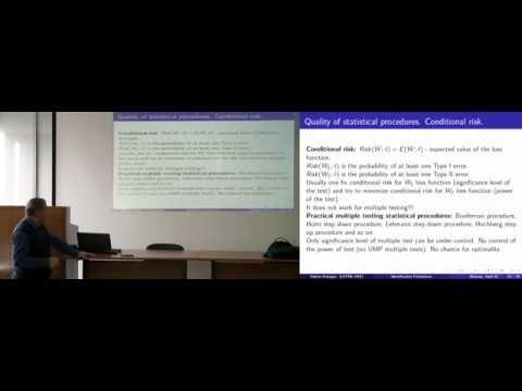 [Коллоквиум]: Статистические задачи идентификации сетевых структур