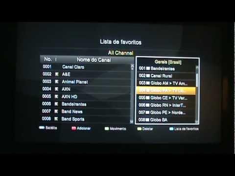 DUMP Duosat Prodigy HD (70W Ku/C+61W+43W+63W+72W+30W) Organizada + Configuração de Canais