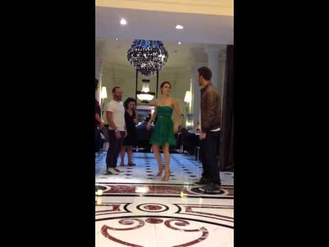 RYAN GUZMAN and KATHRYN McCORMICK Private Dancin'