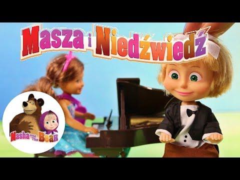 Masza I Niedźwiedź • Lekcja Gry Na Fortepianie • Barbie • Bajki