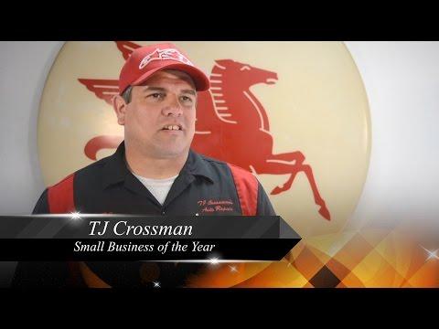 TJ Crossman Auto Repair Vista- TJ Crossman Small Business of the Year Hereos of Vista