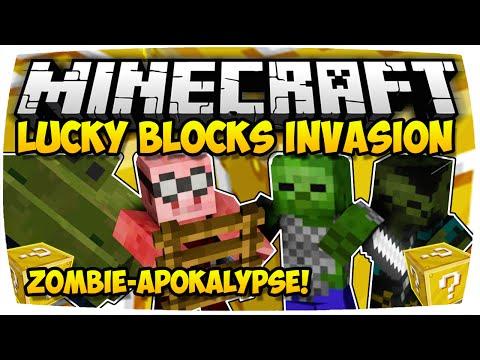 MINECRAFT: LUCKY BLOCKS INVASION - TOWER DEFENSE IN MINECRAFT! ♦ MINI-GAME   [Deutsch // HD]