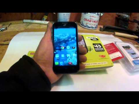 Straight Talk ZTE Majesty Smart Phone Review YES Verizon Network