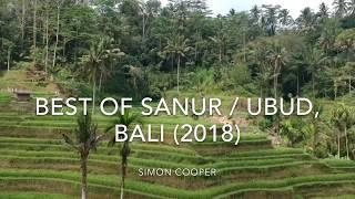 Aerial Vision / Video of Sanur/Ubud, BALI (Footage Taken With DJI Spark)