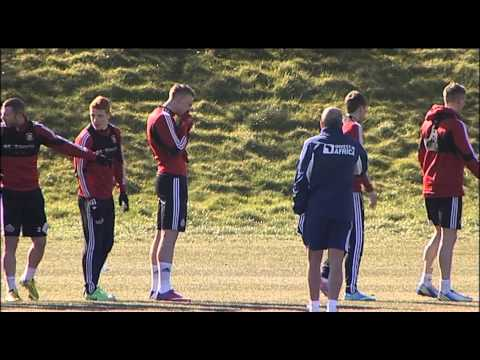 Paolo Di Canio - First Sunderland Training2 - 04-04-13