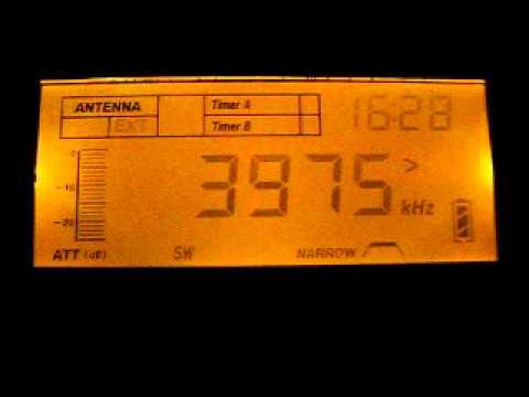 Azad Kashmir Radio 3975 kHz. 13.11.2011.