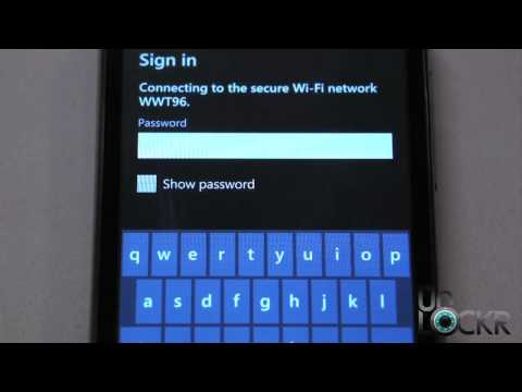 How To Setup Wifi (Wireless Internet) on a Windows Phone Device