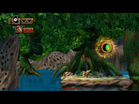 Donkey Kong Country Tropical Freeze (Walkthrough #1) Lost Mangroves Gameplay HD