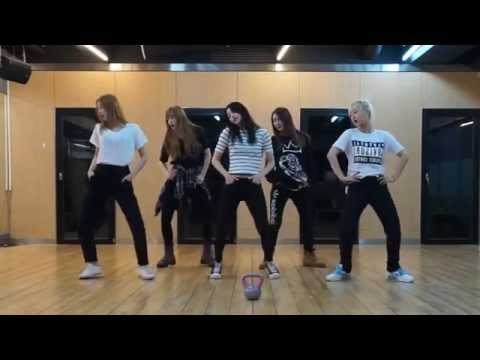 EXID 'Ah Yeah' mirrored Dance Practice