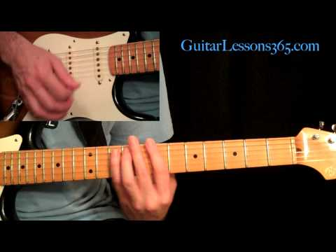 Still Got The Blues Guitar Lesson Pt.2 - Gary Moore - Verse, Chorus & Bridge