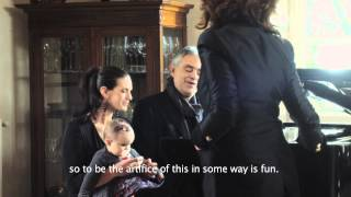 Andrea Bocelli Love In Portofino Exclusive Cinema Interview