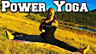 Ninja Power Yoga Workout - 40 Min TOTAL BODY Yoga Flow