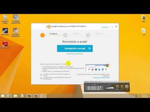 Instalar Avast Free Antivirus 2014 y Registrarla sin Internet