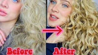 HOW TO REFRESH YOUR CURLS CHEAP | 2ND & 3RD DAY HAIR