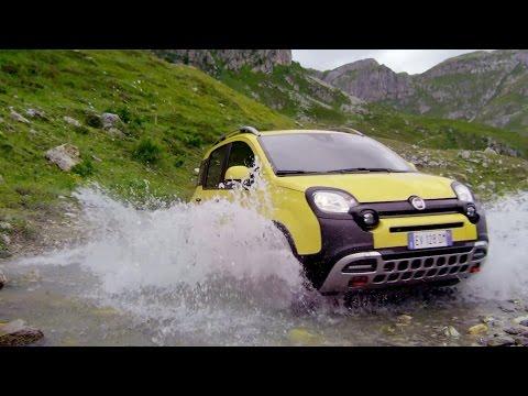NEW Fiat Panda Cross - Off-Road demo