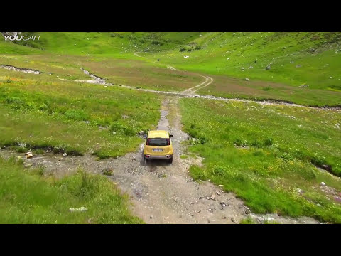 NEW Fiat Panda Cross - Off-Road demo