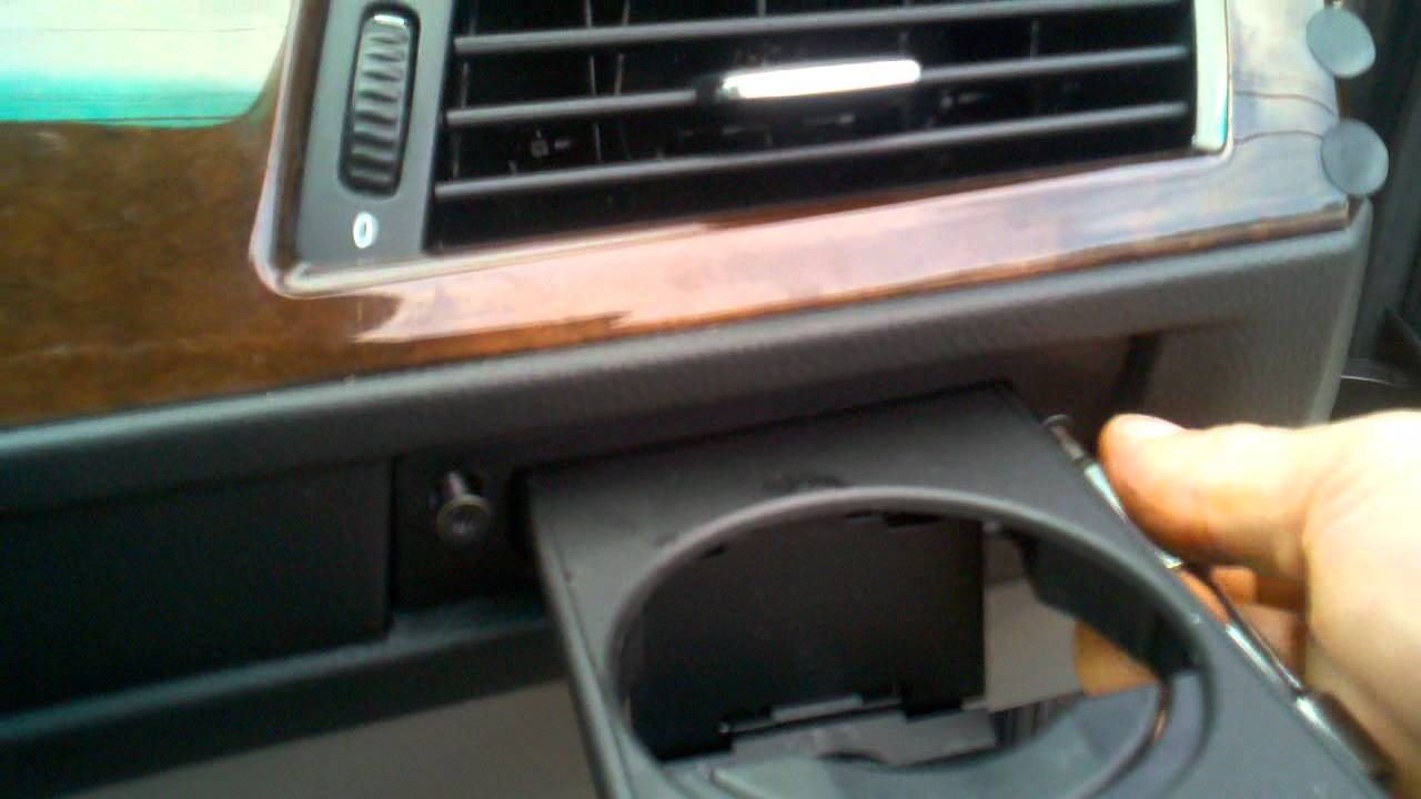 Bmw Cup Holder Can Holder Replacement Diy Do It
