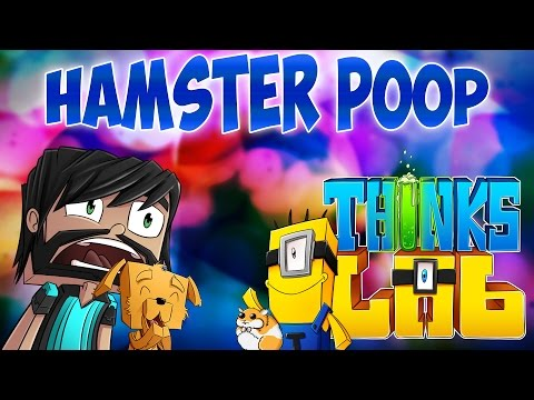Minecraft Mods: Think's Lab - Hamster Party - HAMSTERS POOPING EVERYWHERE!